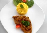 Cotlet de porc cu fenicul si orez Thai